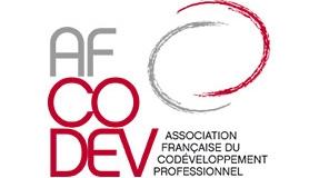 Le logo de l'AFCODEV (16:9)