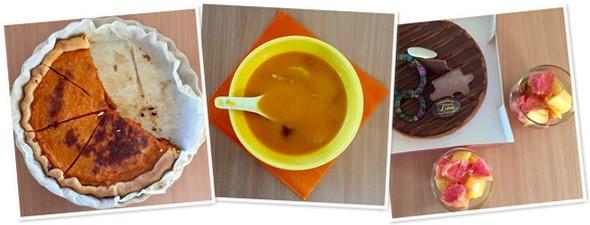 Formation - Le déjeuner orange