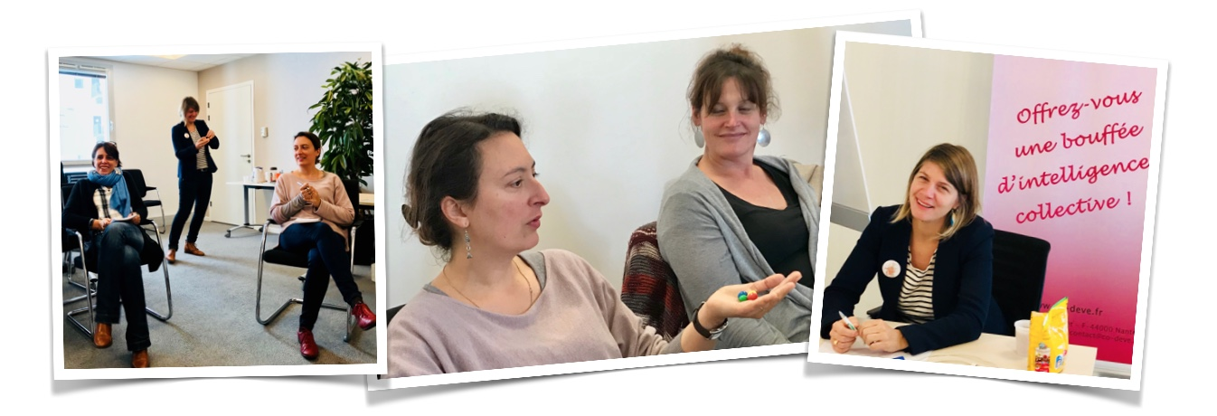 L'intervention d'Aurélie BEIGNON : des M&M's, du rire, de l'énergie et une sacrée expérience !