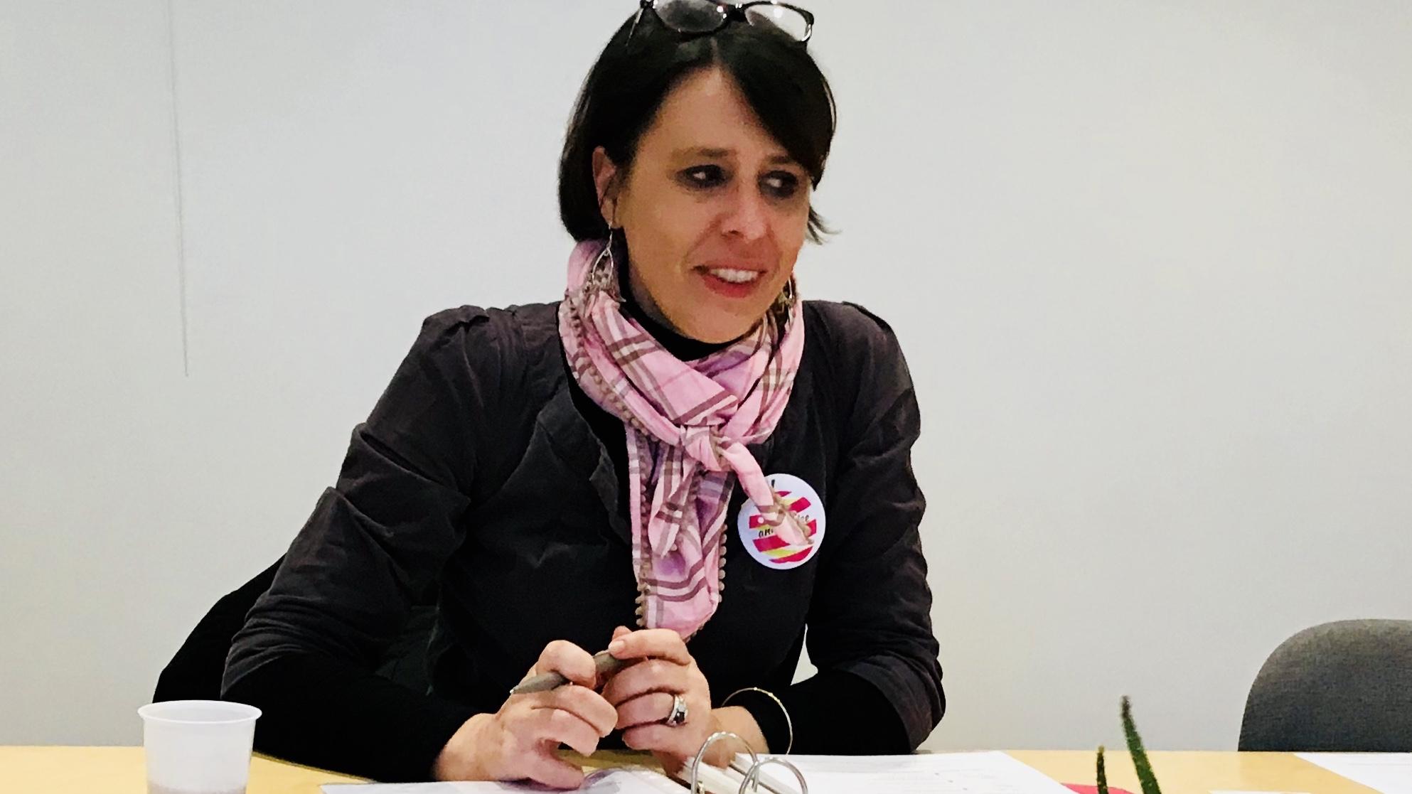 Aude PEILLON anime du co-développement à Tassin-la-Demi-Lune (69)